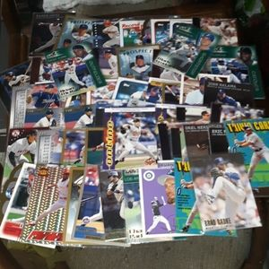 Lot of 60 excellent condition baseball cards